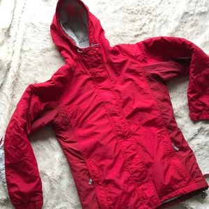 Columbia Fleece Lined Winter Hoodie Jacket
